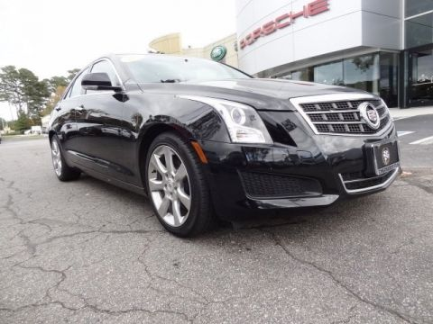 Pre-Owned 2013 Cadillac ATS 2.0L Turbo Luxury