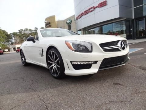 Pre-Owned 2016 Mercedes-Benz SL-Class SL 63 AMG®